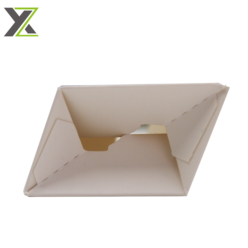 Full color bottom auto locked perfume cosmetic mini paper boxes