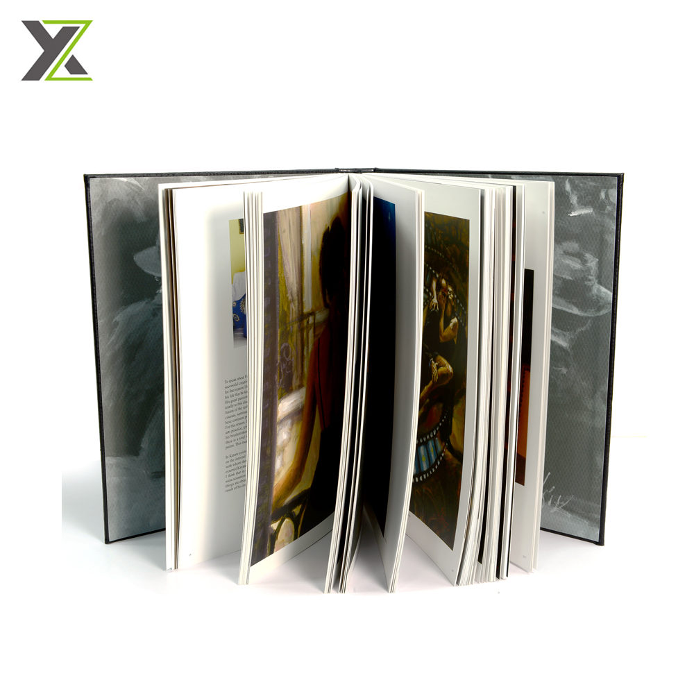 Customized leather bound book printing